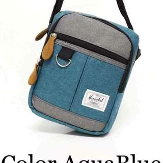 Herschel sling bag size : 8*9 inches