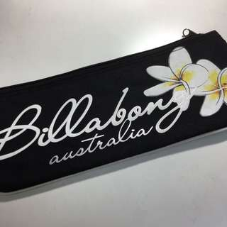 Billabong Long Pencil Case - Black, Floral