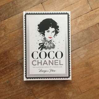 Coco Chanel: The Illustrated World of a Fashion Icon by Megan Hess (FREE SHIPPING)