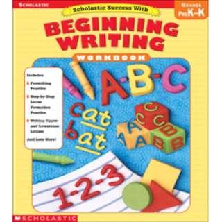 Scholastic Success with Beginning Writing Grade PreK-K(PDF)