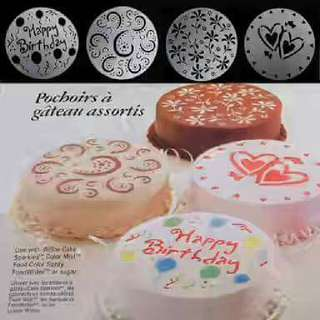 Cake Decorating Stencil