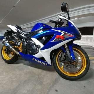 Suzuki GSXR K8 600cc