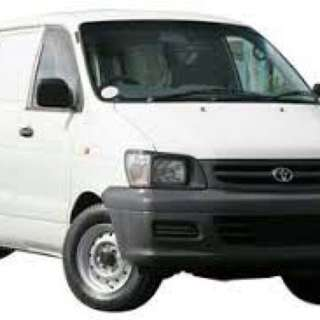 Van for rental
