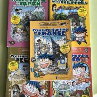 Treasure Hunting Series( Japan, Egypt, France, Philippines, China)