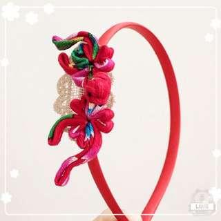 Handmade CNY hair accessories 手作賀年頭箍
