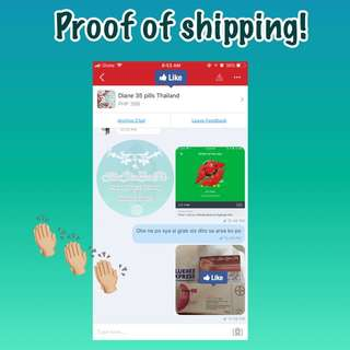 Proof of shipping!😍
