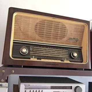 Telefunken Tube Radio Made in western Germany