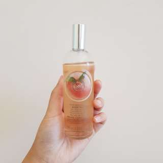 Body Shop Peach Spray