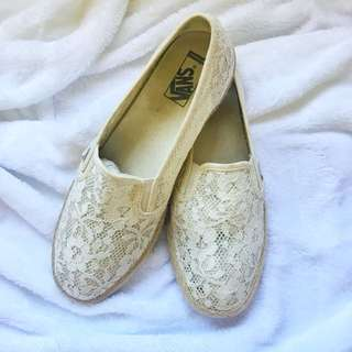 Lace Vans Shoes