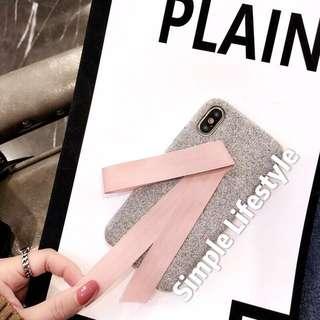 韓風布質iPhone 手機殼