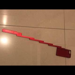 Iphone 7 紅色超輕自拍棍