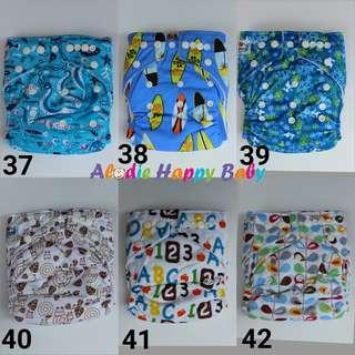 Cloth Diaper / Clodi / Popok Kain BABYLAND 2 Insert Minrofiber