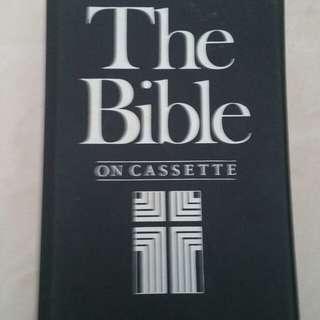 Holy Bible,KJV cassette