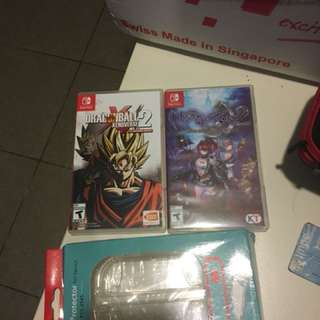 Dragonball azure2 and crystal clear cover together
