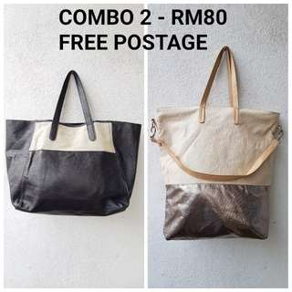 COMBO FOR 2 BAG