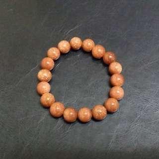 (BN) 10mm Sand Stone Bracelet