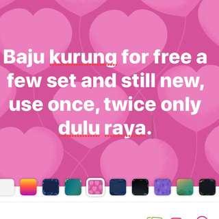 Baju kurung for free