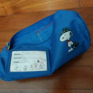 Peanuts comics Pencil Case