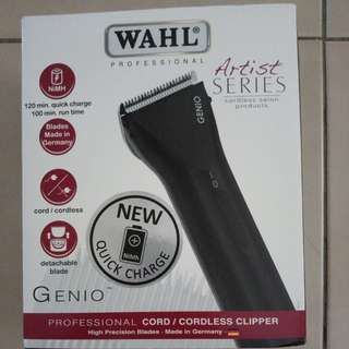 Wahl genie cord/cordless clipper