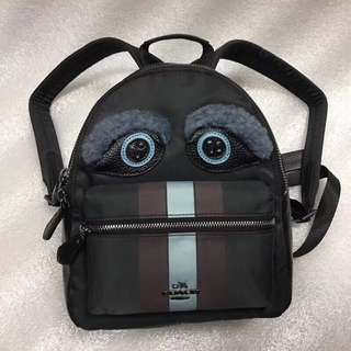 Coach Mini Charlie Backpack with Monster