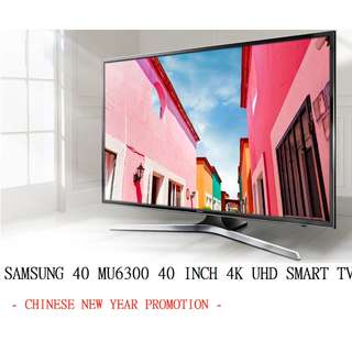 SAMSUNG UA40MU6300JXZK 40 INCH 4K SMART TV