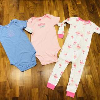 Bnwt carters baby girl clothes