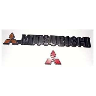 Original MITSUBISHI Emblem