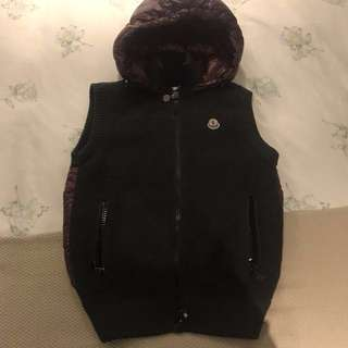 Moncler down knit jacket