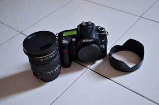 Nikon D90 + Sigma 17-50mm f2.8