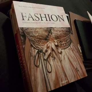 The collection of the Kyoto Costume Institute Fashion A history from the 18th to the 20th century from Taschen