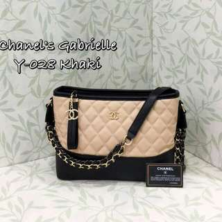 Chanel Gabrielle Khaki Color