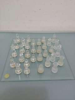 玻璃圍棋擺設
