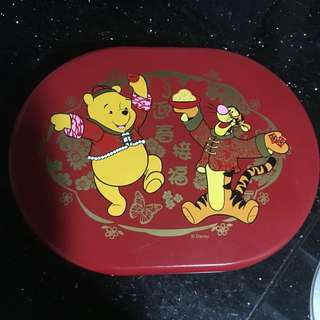 Winnie the pooh四隔傳盒