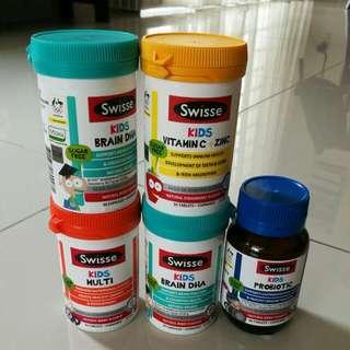 Swisse kids supplements from Australia
