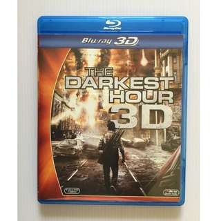 The Darkest Hour 3D Blu Ray + Blu Ray