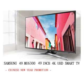 SAMSUNG UA49MU6300JXZK 49 INCH 4K SMART TV