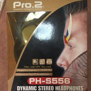Pro.2 Dynamic Stereo Headphones