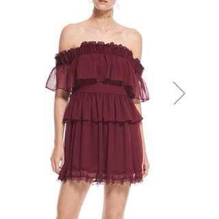 Talulah mini off the shoulder dress