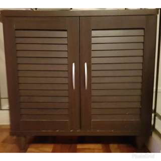 2-door 4 layer shoe cabinet