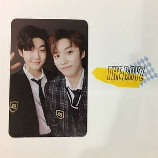 THE BOYZ LIVE VER JACOB AND KEVIN PHOTOCARD