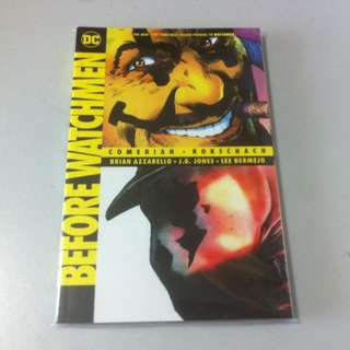 Watchmen Comedian And Rorschach Complete