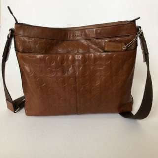 Vintage Coach Messenger Bag