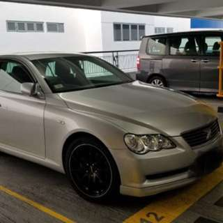 TOYOTA MARK X 2.5 2006