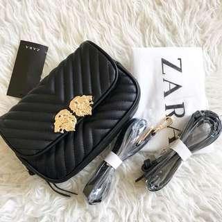 Authentic Zara black sling bag
