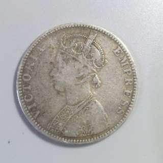 1893年 印度 1盧比幣