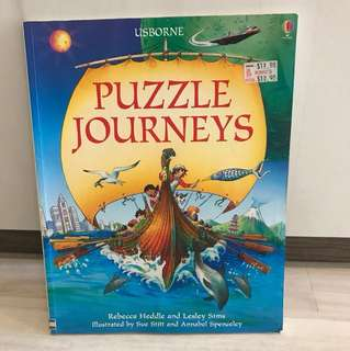Usborne puzzle journeys