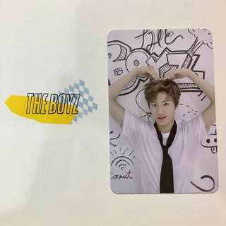ERIC THE BOYZ PHOTOCARD PC LIVE VER