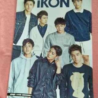 K-pop Poster iKon