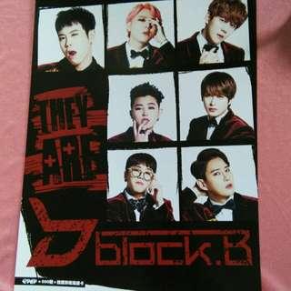 K-pop Poster Block.B