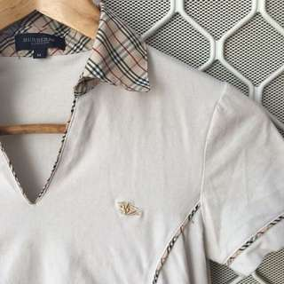 Burberry collared top